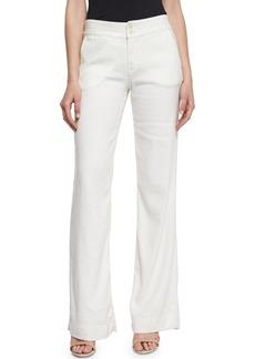 Joie Starboard Wide-Leg Linen Pants