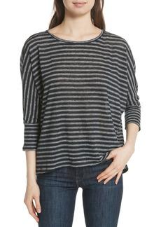 Joie Stripe Linen Knit Top