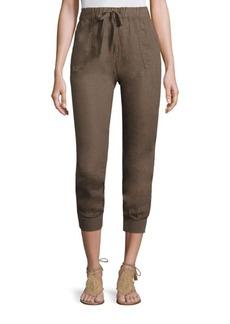 Joie Stuva Linen Cargo Pants