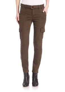 Joie Surplus Twill Skinny Cargo Pants