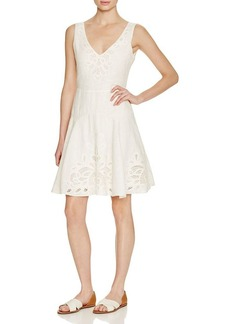 Joie Suzanna Lace Detail Dress