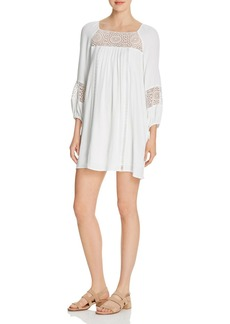 Joie Tabara Lace-Inset Mini Dress