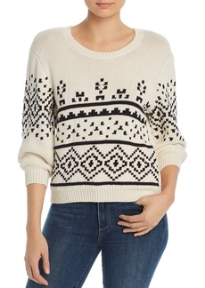 Joie Talena Fair Isle Sweater