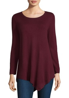 Joie Tambrel Asymmetrical Wool & Cashmere Sweater