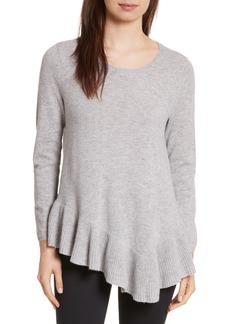 Joie Tambrel N Wool & Cashmere Asymmetrical Sweater Tunic