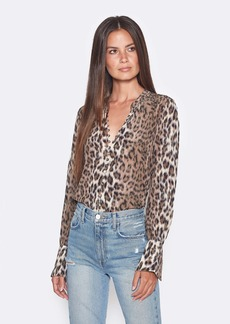 Joie Tariana Front Button Silk Blouse