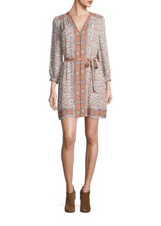 Joie Teedra Tapestry Print Dress