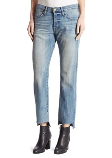 Joie The Crossover Cropped Step Hem Jeans