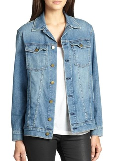 Joie The Oversized Trucker Denim Jacket