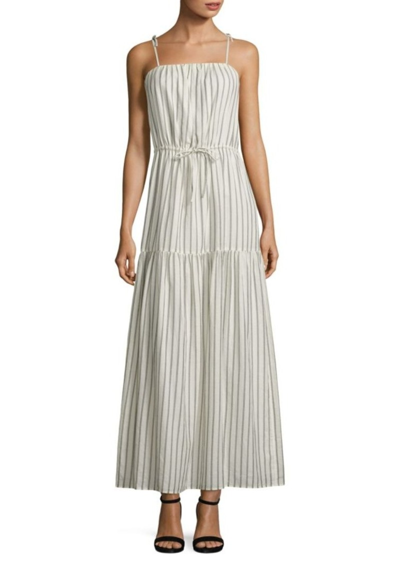 614269b877b1 SALE! Joie Joie Theodorine Striped Cotton Maxi Dress