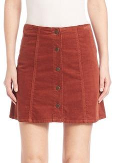 Joie Tilda Corduroy Mini Skirt