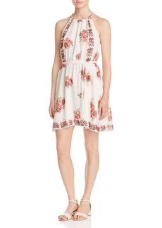 Joie Valletta Floral Print Silk Dress
