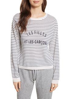Joie Verbina Stripe Pullover