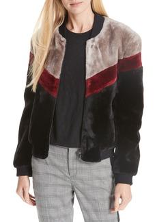 Joie Vesna Faux Fur Jacket