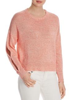 Joie Vestein Slit-Sleeve Sweater