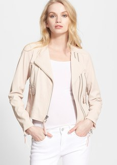 Joie 'Vivianette' Leather Moto Jacket