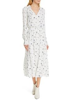 Joie Waneta Long Sleeve Midi Dress