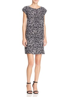 Joie Weaver Printed Silk Dress