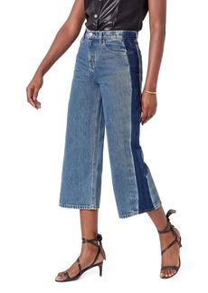 Joie Wilmer Wide Leg Crop Jeans (Regal)