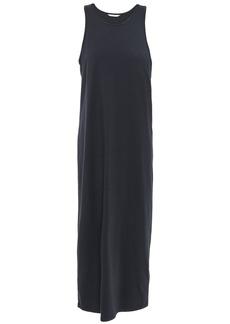 Joie Woman Gathered Jersey Midi Dress Black