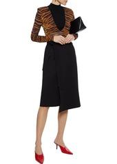 Joie Woman Gino Ponte Wrap Skirt Black