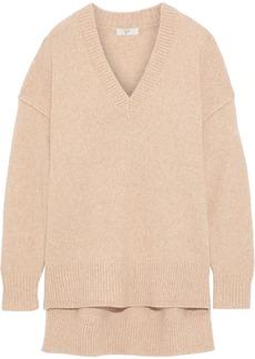Joie Woman Limana Mélange Wool-blend Sweater Beige