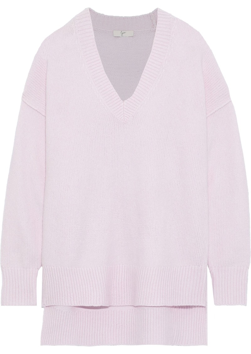 Joie Woman Limana Wool-blend Sweater Lilac