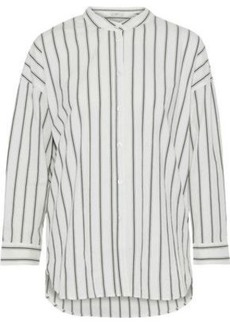 Joie Woman Long Sleeved Top Off-white