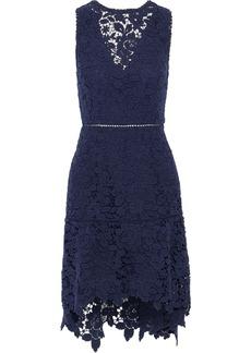 Joie Woman Bridley Cutout Cotton Guipure Lace Mini Dress Indigo