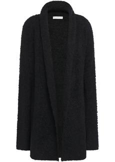 Joie Woman Solome Bouclé-knit Cardigan Black