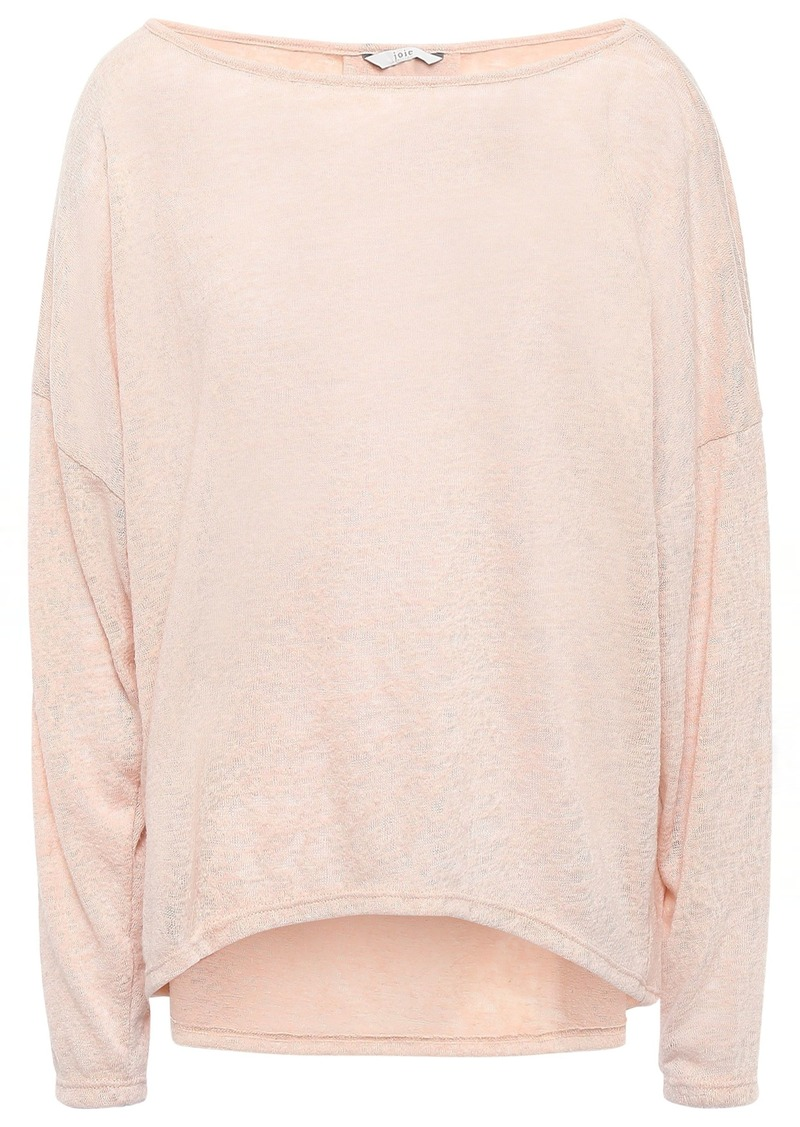 Joie Woman Tashay Slub Jersey Top Blush
