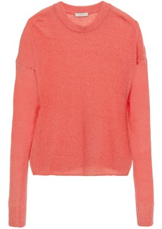 Joie Woman Wool-blend Sweater Coral
