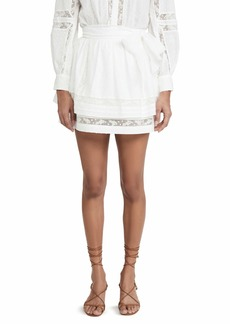Joie Women's Amerie Skirt  White Off White
