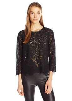 Joie Women's Antonia Lace Blouse  L