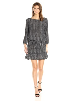 Joie Women's Arryn B Diamond Ikat Print Dress  M