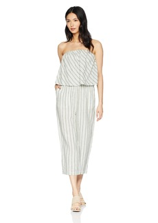 Joie Women's Brogan Linen Stripe Jumpsuit  s