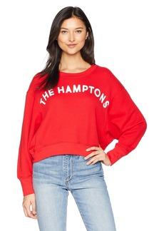 Joie Women's Caleigh B Cotton Graphic Crewneck Sweatshirt  s