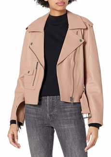 Joie Women's Classic Moto Leather Jacket