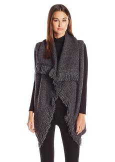 Joie Women's Guarine B Cozy Reversed Jersey Half Cardigan Stitch  X Small