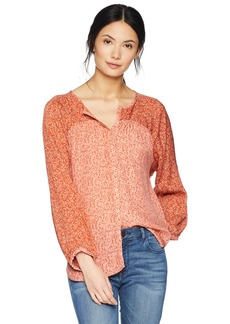 Joie Women's Jafeth Printed Silk Blouse  m