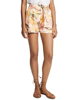 Joie Women's Jaklynn Shorts  Floral Yellow