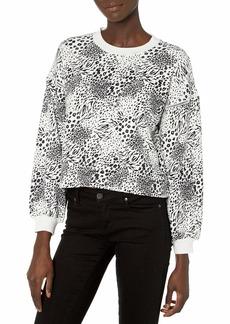 Joie Women's Jeyne Sweatshirt  White Print