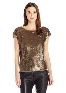 Joie Women's Marania Sequined Blouse  XS