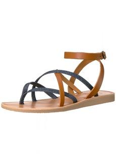 Joie Women's Oda Flat Sandal Denim-Cuoio