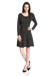 Joie Women's Romula  Jacquard Fit and Flare Dress