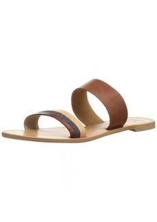 Joie Women's Sabin Flat Sandal Denim-Natural