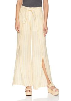 Joie Women's Sahira Linen Stripe Pants  m