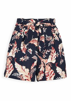 Joie Women's Varsha Shorts  Blue Floral