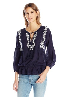 Joie Women's Virani Embroidered Blouse  S