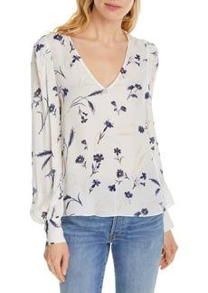 Joie Yadra Floral Silk Top